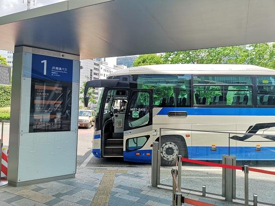 東京駅 八重洲口 高速バスターミナル 高速かしま号