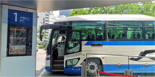 高速バス乗り場 八重洲南口
