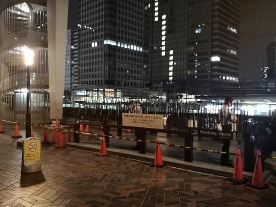 貿易センタービル 浜松バスターミナル 喫煙所