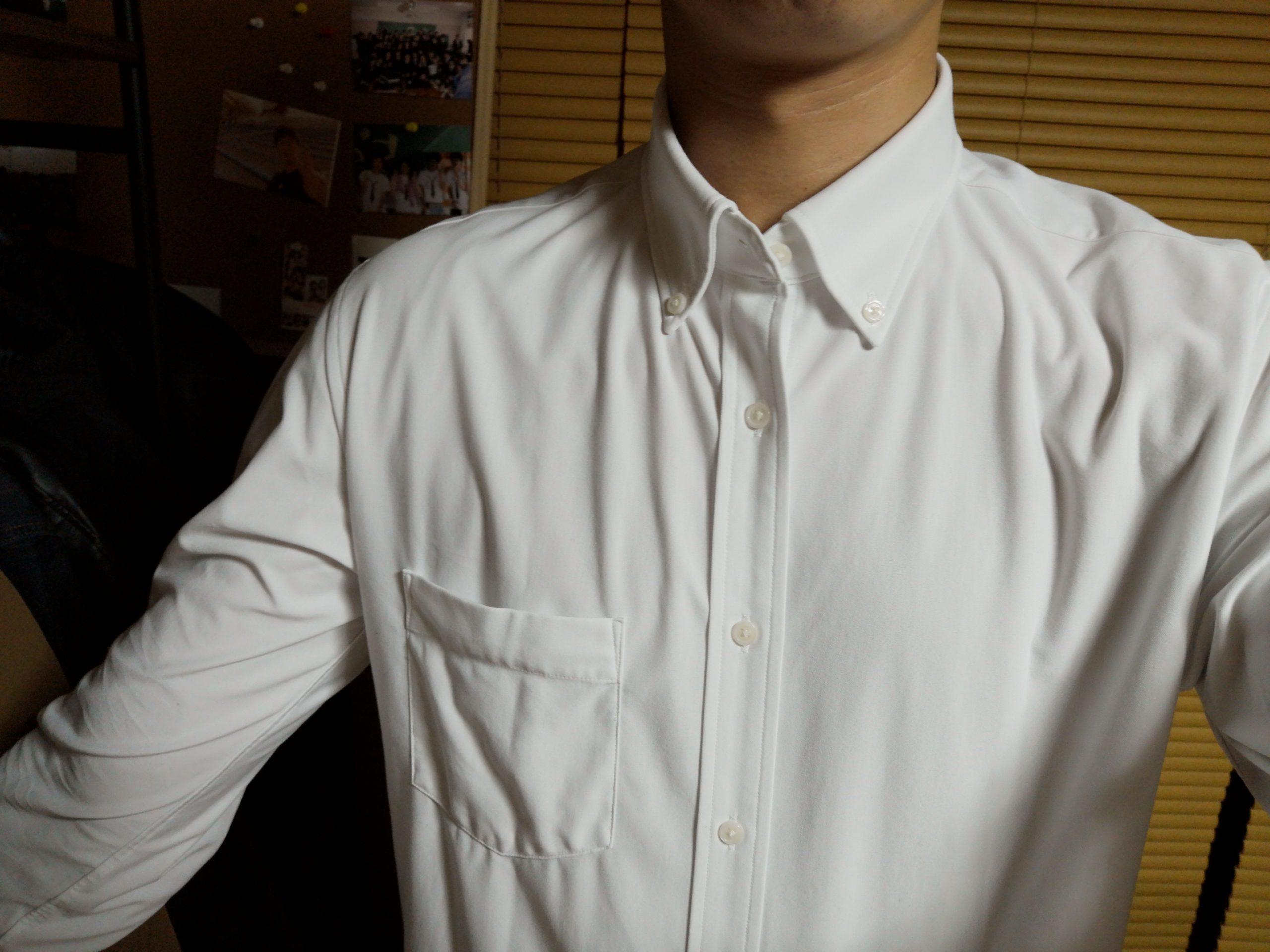 シャツの下着にピッタリ